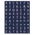 Foam Alphabet Stickers 63 pk-Fantasia