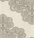 Home Essentials Paris Lightweight Decor Fabric 45\u0022-Airwaves Gray