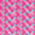 Blizzard Fleece Fabric-Pink Mermaid Scales
