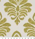 Robert Allen @ Home Lightweight Decor Fabric 55\u0022-Elan Damask Lemongrass