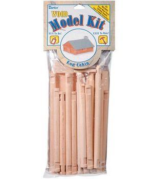 Darice Wood Model Kit-Log Cabin
