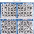 Primo Bingo Game Sheets 8\u0022X8\u0022 125/Pkg