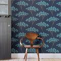 Wallpops Peel & Stick Wallpaper-Blue Ficus