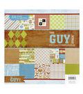 DCWV 12\u0022x12\u0022 Premium Paper Stack Guy