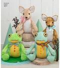 Simplicity Pattern 8311 Stuffed Deer & Frog