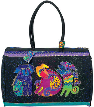 "Laurel Burch Travel Bag 21""x9""x16""-Dogs&Doggies"