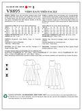 Mccall Pattern V8895 16-18-20-2-Vogue Pattern