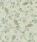 Dena Home Multi-Purpose Decor Fabric 53\u0022-Kalia Embroidery/Green Tea