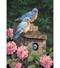 Dimensions Paint By Number Kit 14\u0022x20\u0022 Garden Bluebirds