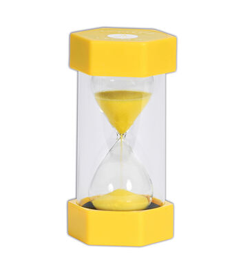 TickiT Sand Timer, 3 Minutes, Yellow