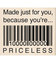 Rubber Stamp K-Just For You Priceless, , hi-res