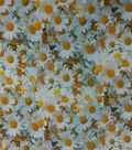 Easter Cotton Fabric -Photo Real Daisey