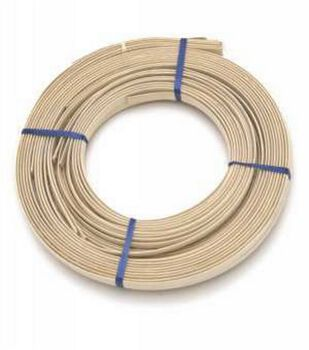 "Flat Oval Reed 1/2"" 1 Pound Coil Approx 90'"