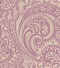 Home Decor 8\u0022x8\u0022 Fabric Swatch-Upholstery Fabric-Waverly Easy Breezy/Wisteria