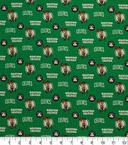 Boston Celtics Cotton Fabric-Allover, , hi-res