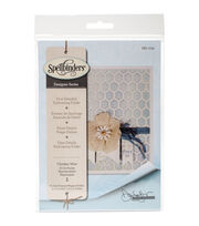 Spellbinders Donna Salazar Large Embossing Folder-Chicken Wire, , hi-res