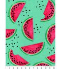 Snuggle Flannel Fabric 42\u0027\u0027-Watermelon Slices
