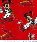 St. Louis Cardinals Fleece Fabric-Mickey