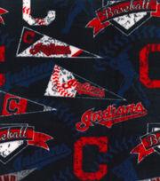 Cleveland Indians Fleece Fabric -Vintage, , hi-res