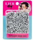 LaurDIY Bead Mix-Alphabet White