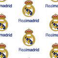 Real Madrid Football Club Cotton Fabric