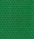 Cotton Eyelet Mini Dot Fabric-Green