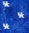 University of Kentucky Wildcats Cotton Fabric -Tie Dye