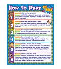 Carson-Dellosa How to Pray for Kids Chart 6pk
