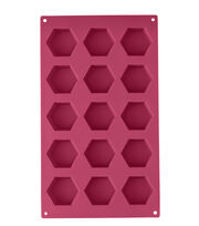 Wilton Hexagon Silicone Candy Mold, , hi-res