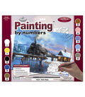 15-3/8\u0022x11-1/4\u0022 Adult Paint By Number Kit-Winter Magic