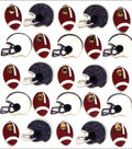 Jolee\u0027s Boutique Dimensional Mini Repeats Stickers-Footballs And Helmets