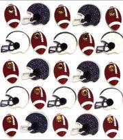 Jolee's Boutique Dimensional Mini Repeats Stickers-Footballs And Helmets, , hi-res