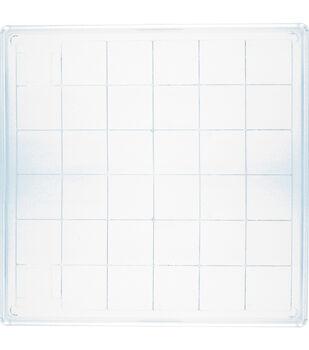 """Inkadinkado Large Acrylic Block-6""""X6"""""""