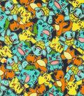 Pokemon Cotton Fabric 44\u0022-Micro Classic