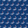 Los Angeles Dodgers Cotton Fabric-Mini Prints