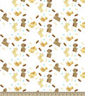 Dear Dog Print Fabric