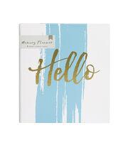 American Crafts Memory Planner Binder-Hello, , hi-res
