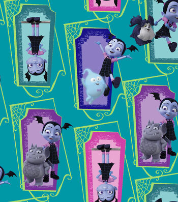 Disney Junior Vampirina Cotton Fabric -Supernatural Friends
