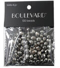 hildie & jo Boulevard 100 Pack Mix Multi Sizes Glass Beads-Silver