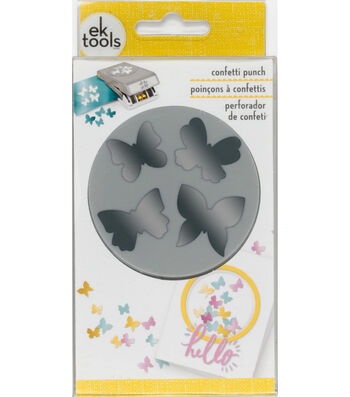 EK Tools Large Punch-Confetti Butterfly