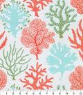 PKL Studio Outdoor Fabric 9\u0022x9\u0022 Swatch-Coral Study Carib