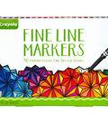 Crayola Fine Line Marker Set 40 Pack-Classic