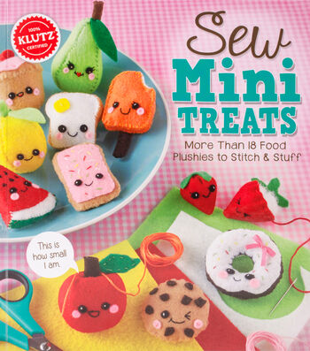 Klutz Sew Mini Treats Book Kit