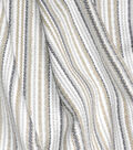 Waverly Upholstery Fabric 54\u0027\u0027-Linen Rustic Stripe