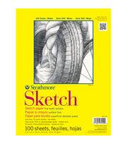 """Strathmore Sketch Paper Pad 14""""X17""""-50lb 100 Sheets, , hi-res"""