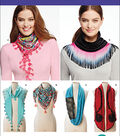 Simplicity Patterns Us1127Os-Simplicity Misses\u0027 Scarves-One Size