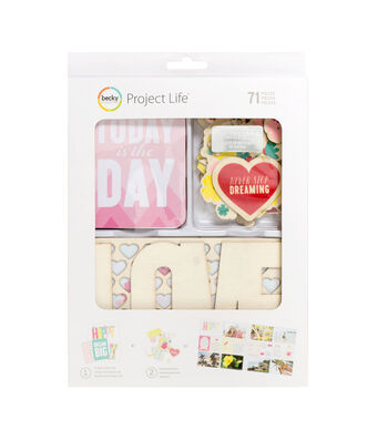 Project Life Note To Self Mini Value Kit