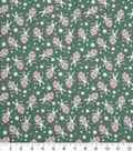 Keepsake Calico Holiday Cotton Fabric 43\u0022-Friendly Kitties Tossed