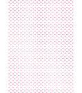 Couture Creations C\u0027est La Vie Hotfoil Stamp-Swiss Dots Background