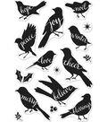 Hero Arts 16 pk Clear Stamps-Bird Words
